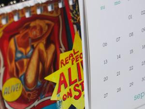 Calendar Flip Stand