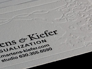 Biovisualization Business Card